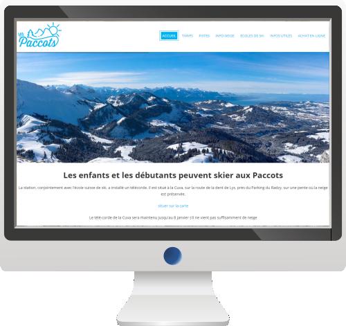 Site Internet<br>Sport et Tourisme