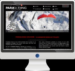 Site InternetTourisme et Activités Sportives