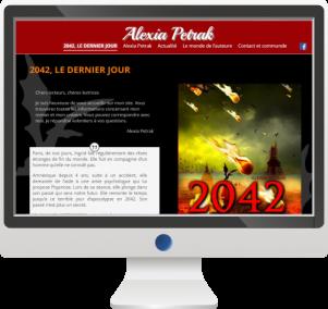 Site InternetEcrivain