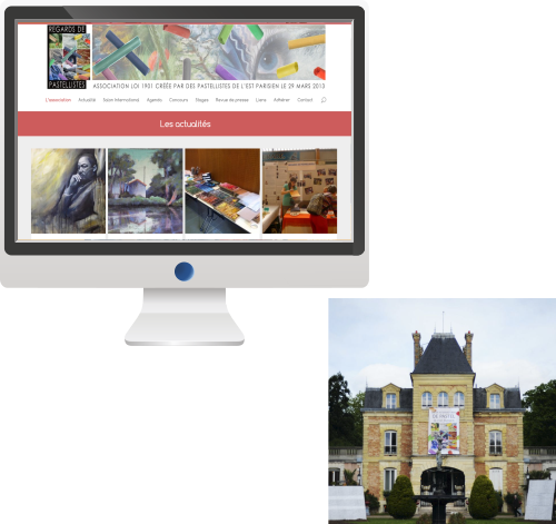 Site Internet<br>Association d'Artistes