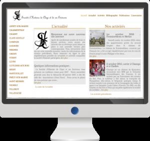 Site Internet Société d'Histoire