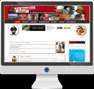 Site d'information sur les pays asiatiquesSite Internet