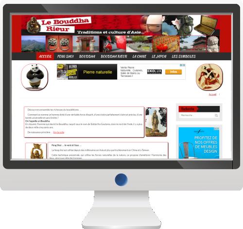 Site d'information sur les pays asiatiques<br>Site Internet