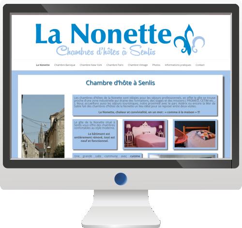 Chambres d'hôtes<br>Site Internet<br>Logo – Print<br>Photos