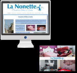 Site InternetTourisme et Hébergement