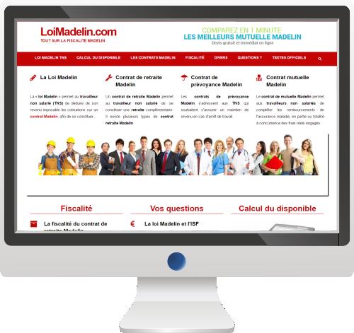 Actualité Économique<br>Site Internet