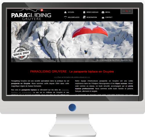 Activités Sportives<br>Site Internet