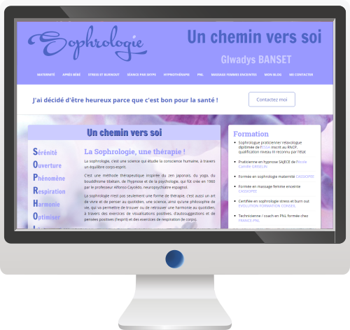 Para-médicale<br>Site Internet