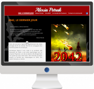 Site InternetEcrivain