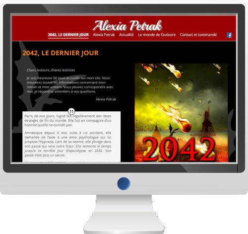 Site Internet<br>Ecrivain