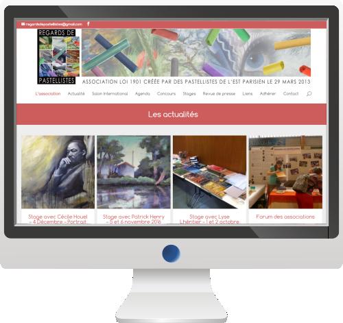 Conception de site Internet Claye-Souilly, Lagny, Chelles et Livry-Gargan pour association