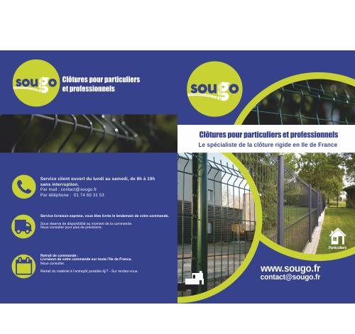 Conception de brochures sur Claye-Souilly, Lagny, Chelles
