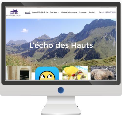 Site Internet<br>Groupement de Propriétaires