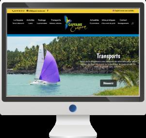 Site InternetAgence de Voyage