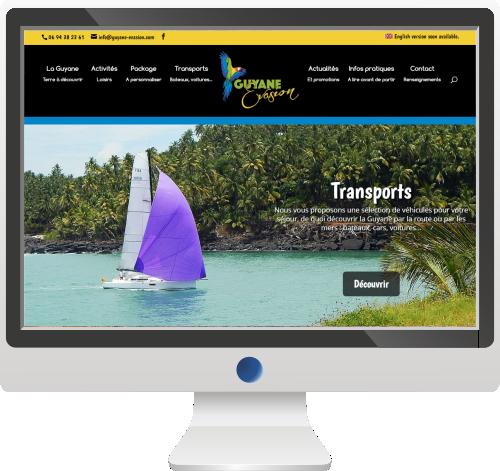 Site Internet<br>Agence de Voyage