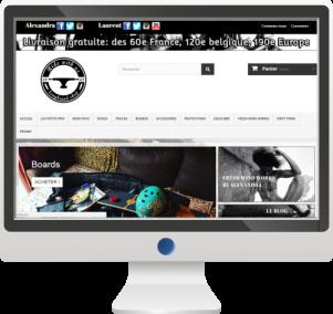 Site E-commerceVente de Longboards