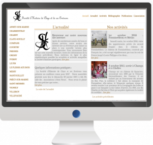 Site InternetSociété d'Histoire