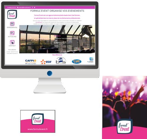 Site Internet <br>Agence événementielle
